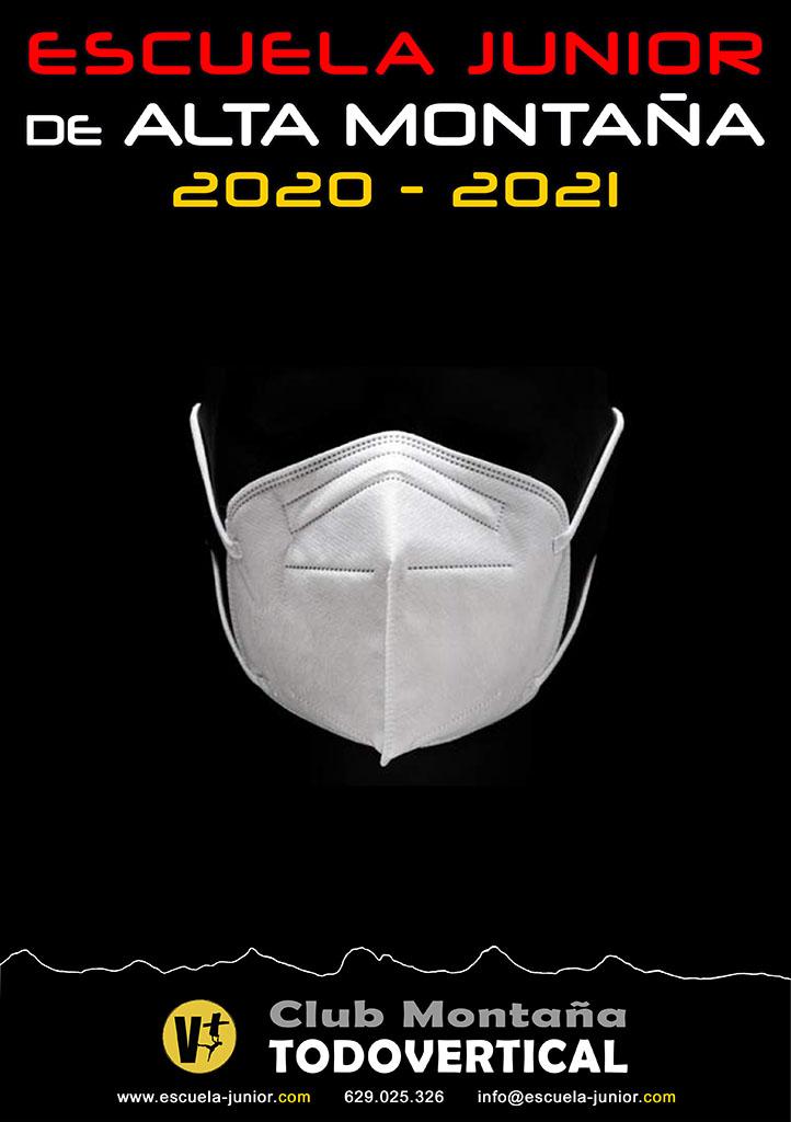 CARTEL ESCUELA JUNIOR 2020-2021