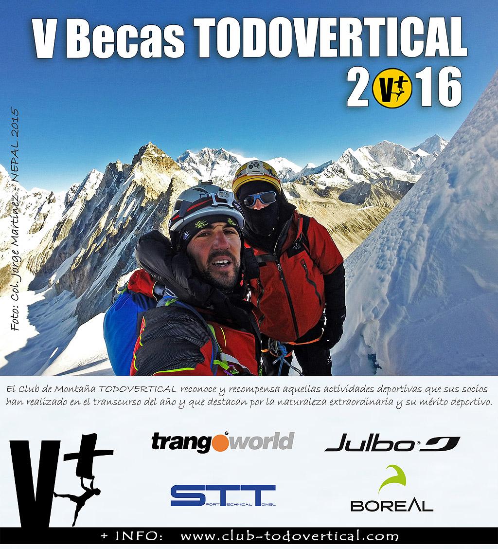 Convocatoria Becas Club TODOVERTICAL 2016