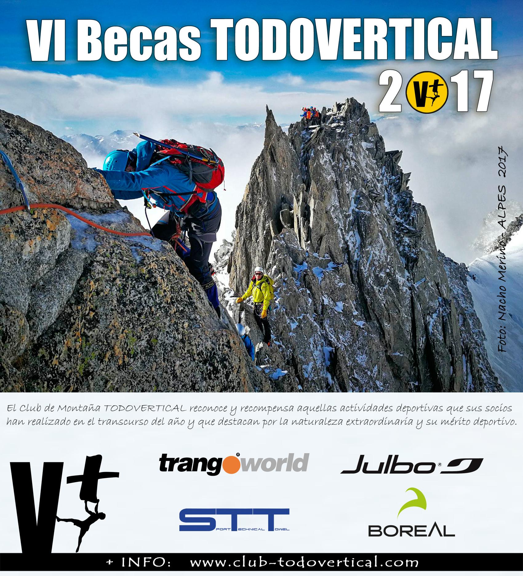 Convocatoria Becas Club TODOVERTICAL 2017